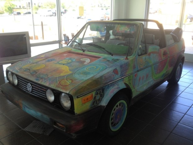 Volkswagen Cabriolet Project, What the Chalk?