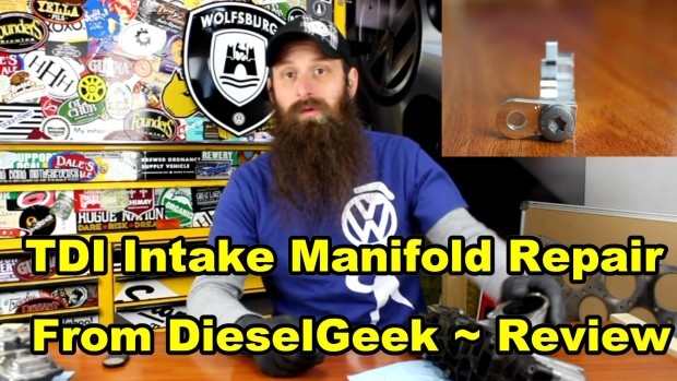 TDI Intake Manifold Repair From DieselGeek ~ Video