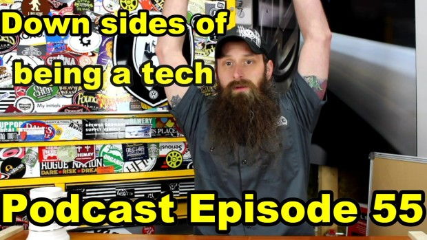 Some Down Sides Of Being A Technician ~ Podcast Episode 55