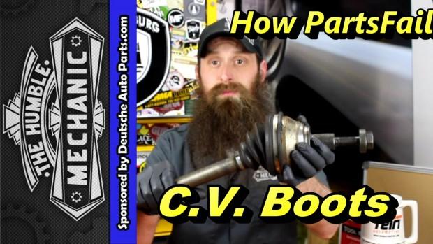 How VW C.V. Boots Fails ~ Video
