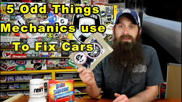 5 Odd Things Mechanics Use To Fix Cars ~ Video