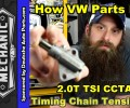 How The 2.0T TSI Timing Chain Tensioner Fails ~ Video