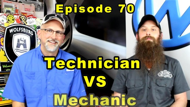 Being a Technician vs Being a Mechanic ~ Audio Podcast Episode 70