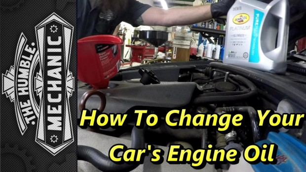 How To Change Your Car's Engine Oil ~ Video