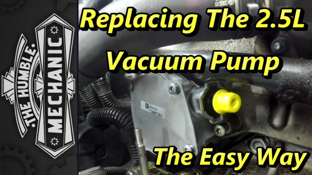 Replacing VW 2.5l Vacuum Pump ~ The Easy Way