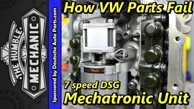 How VW Parts Fail ~ 7 speed DSG Mechatronic Unit