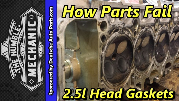 How VW Parts Fail ~ 2.5L Head Gaskets