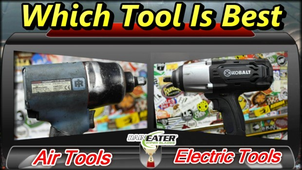 Air Tools VS Electric Tools ~ Podcast Episode 106