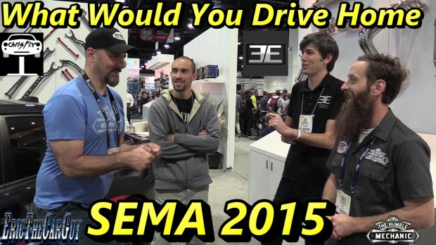 The Best Car At SEMA 2015 – EricTheCarGuy – ChrisFix – Engineering Explained – Humble Mechanic