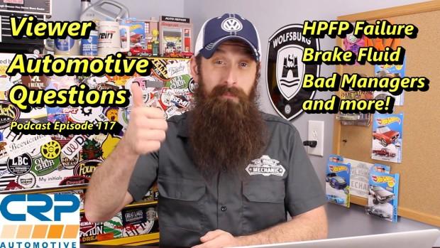 Viewer Automotive Questions ~ Podcast Episode 116