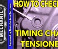 How to Check 2.0T TSI Timing Chain Tensioner