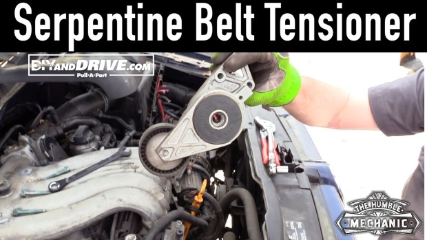 How To Remove A VW Serpentine Belt Tensioner ~ Salvage Yard Tips