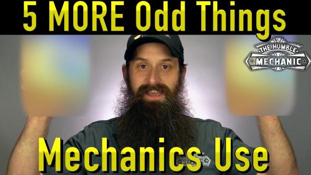 5 MORE Odd Things Mechanics Use To Fix Cars