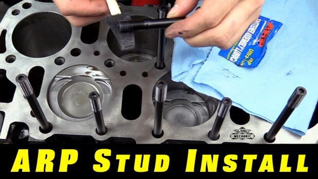 The Easy Way to Install ARP Head Studs