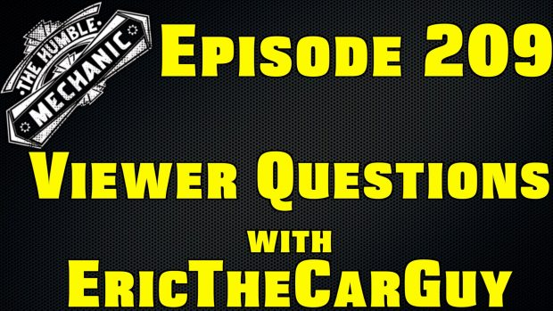 Viewer Car Questions with EricTheCarGuy ~ Audio Podcast Episode 209