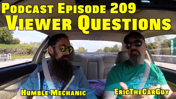Viewer Car Questions with EricTheCarGuy ~ Podcast Episode 209