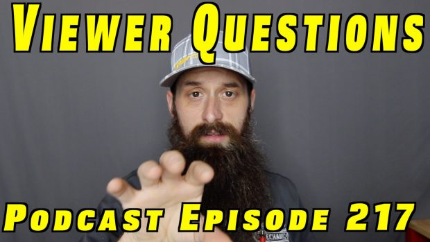 Viewer Car Questions ~ Audio Podcast Episode 217