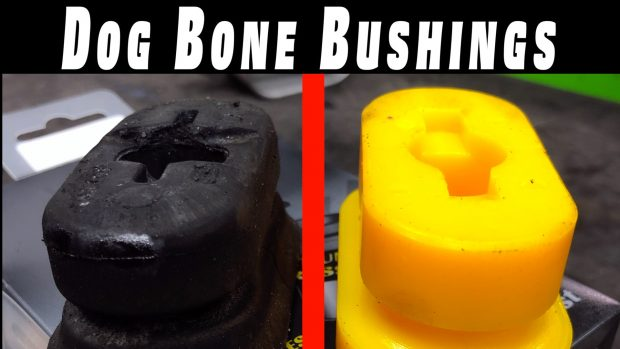 How To Replace MK4 Engine Mount (DogBone Mount) Bushings ~ R32 Restoration