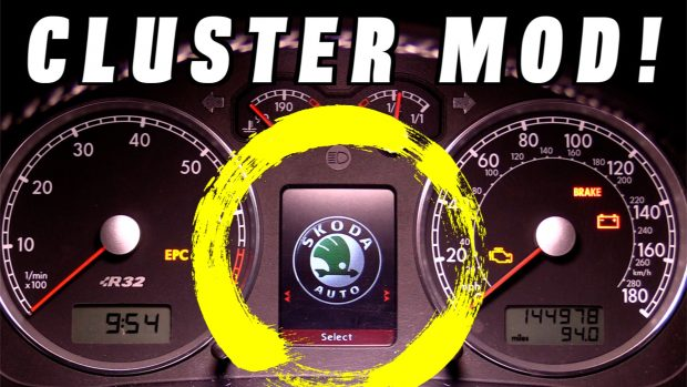 Custom R32 Instrument Cluster (Faded Screen FIXED)