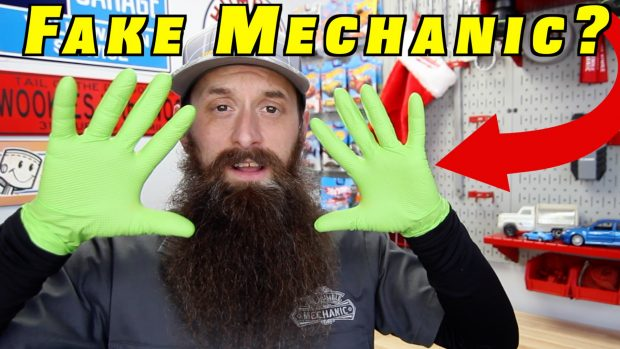 Real Mechanics Don't Wear Gloves??
