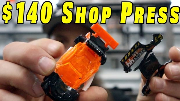New and Cheap Shop Press ~ Harbor Freight Press
