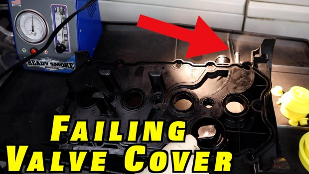 Smoke Testing a Plastic Valve Cover with Built In PCV