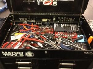 tool box organization