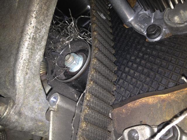 Volkswagen TDI timing belt damage