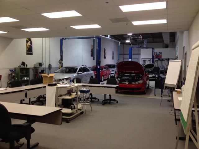 VW mechanic training center
