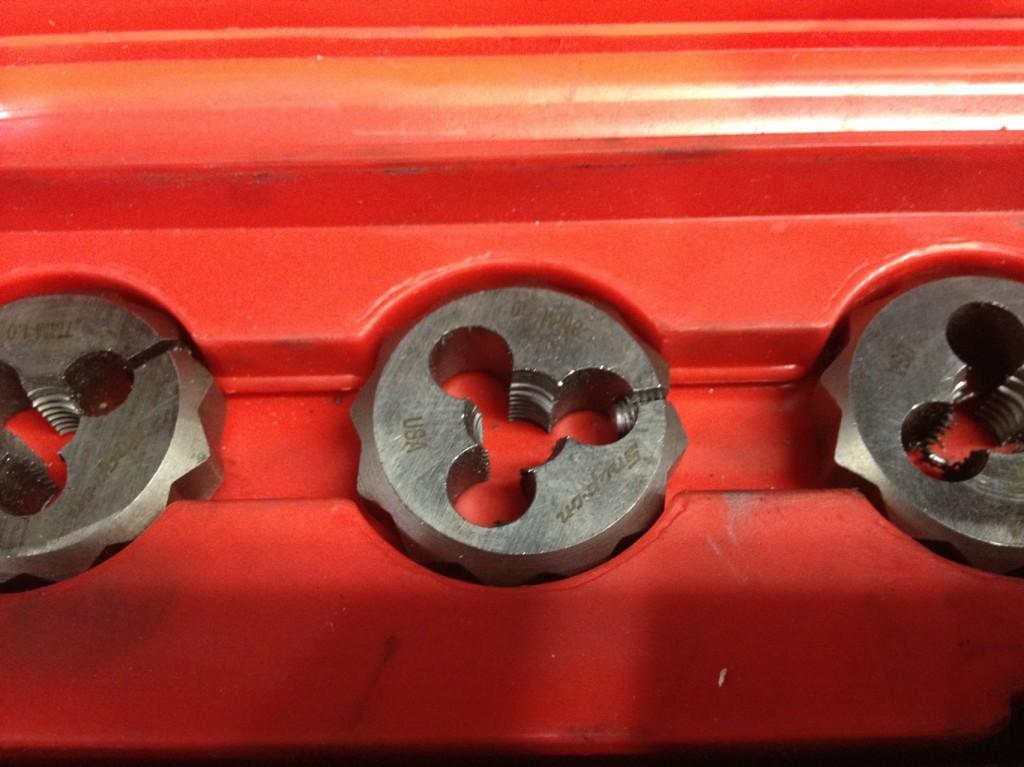 Die Set Auto Mechanic's tools