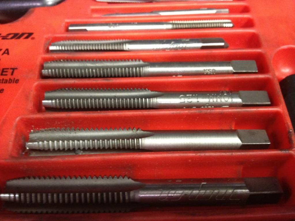 Tap Set Auto Mechanic's tools