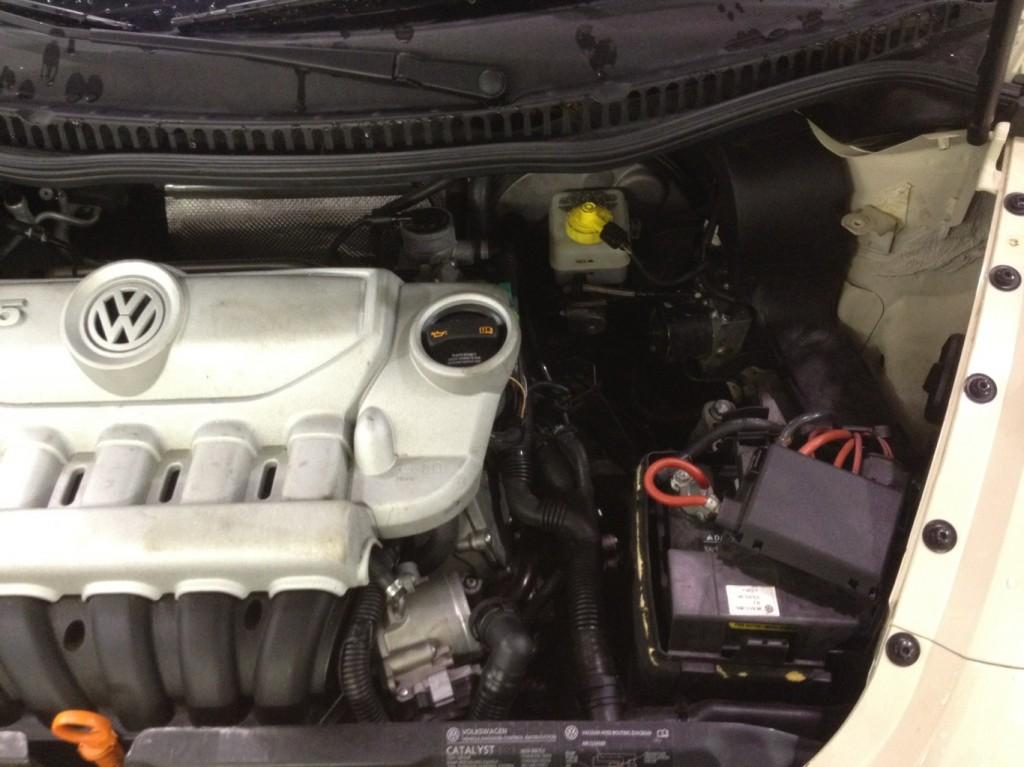 Missing Intake Auto Mechanic
