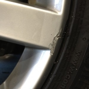 Mechanic Scratched a Wheel