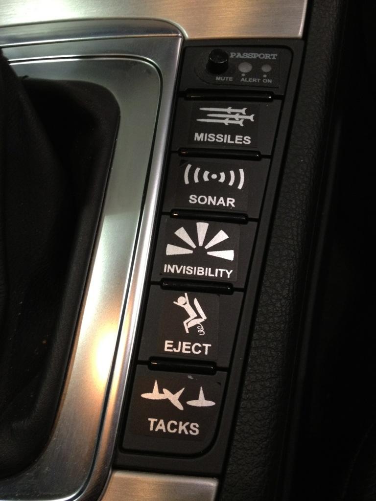 VW Shifter buttons