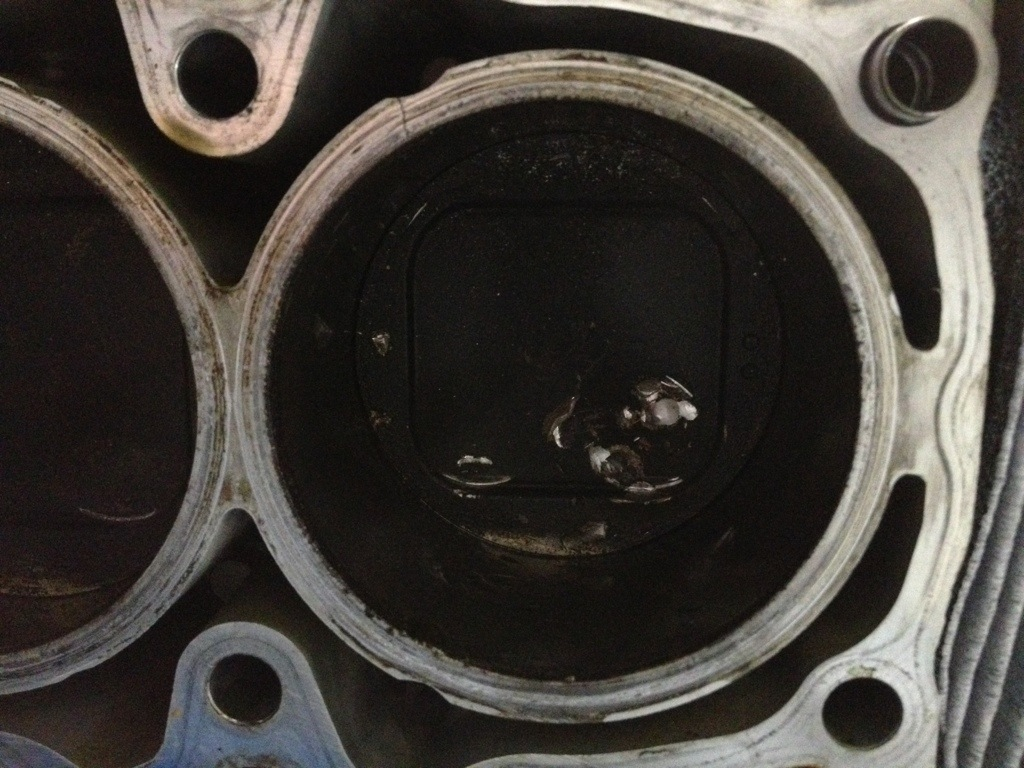 Subaru engine damage