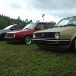 BBS wheels, Lowered VW Southern Worthersee