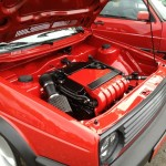 MK2 VR6 swap at Southern Worthersee