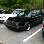 Clean VW Golf at Southern Worthersee SOWO