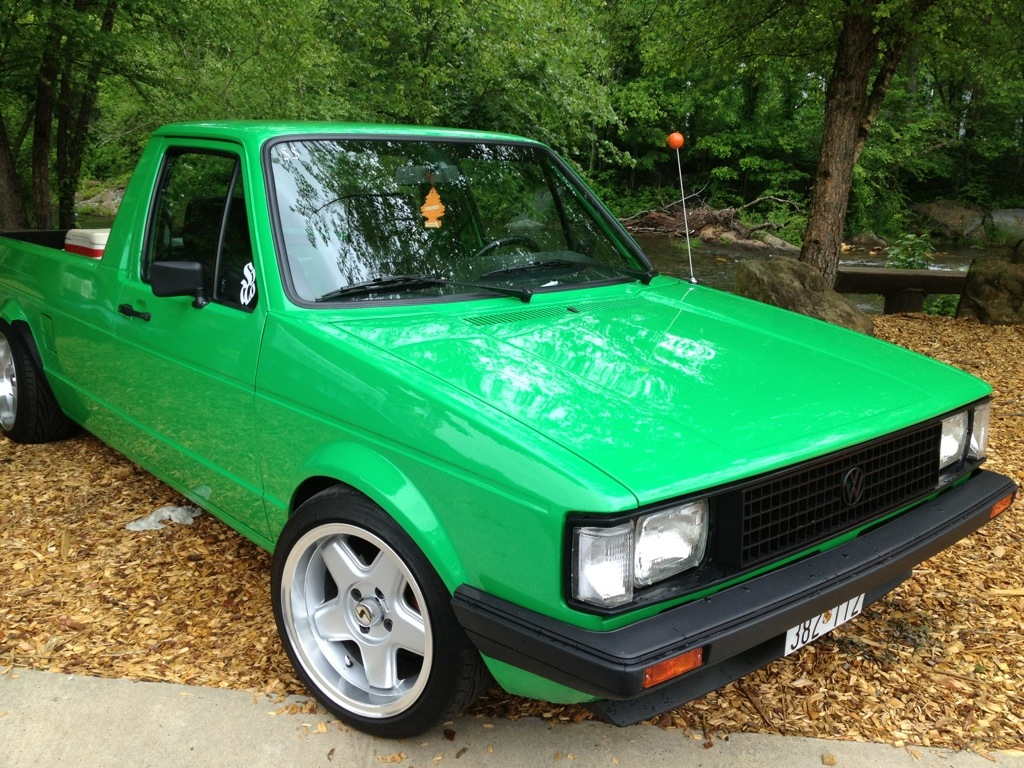 volkswagen caddy pick up at southern worthersee humble mechanic. Black Bedroom Furniture Sets. Home Design Ideas