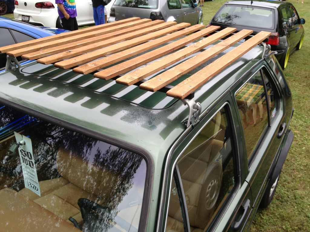 Custom Roof Rack At Southern Worthersee
