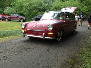 Old school VWs at Southern Worthersee