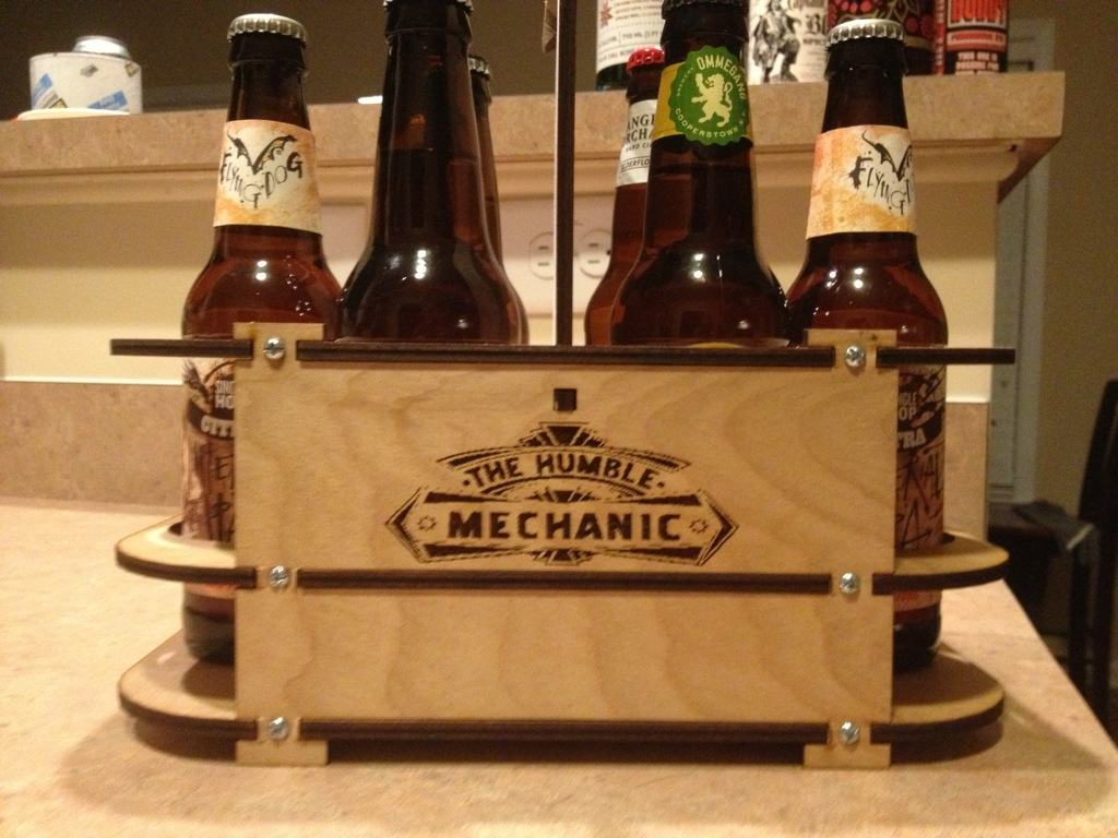 Customer beer holder Growler box