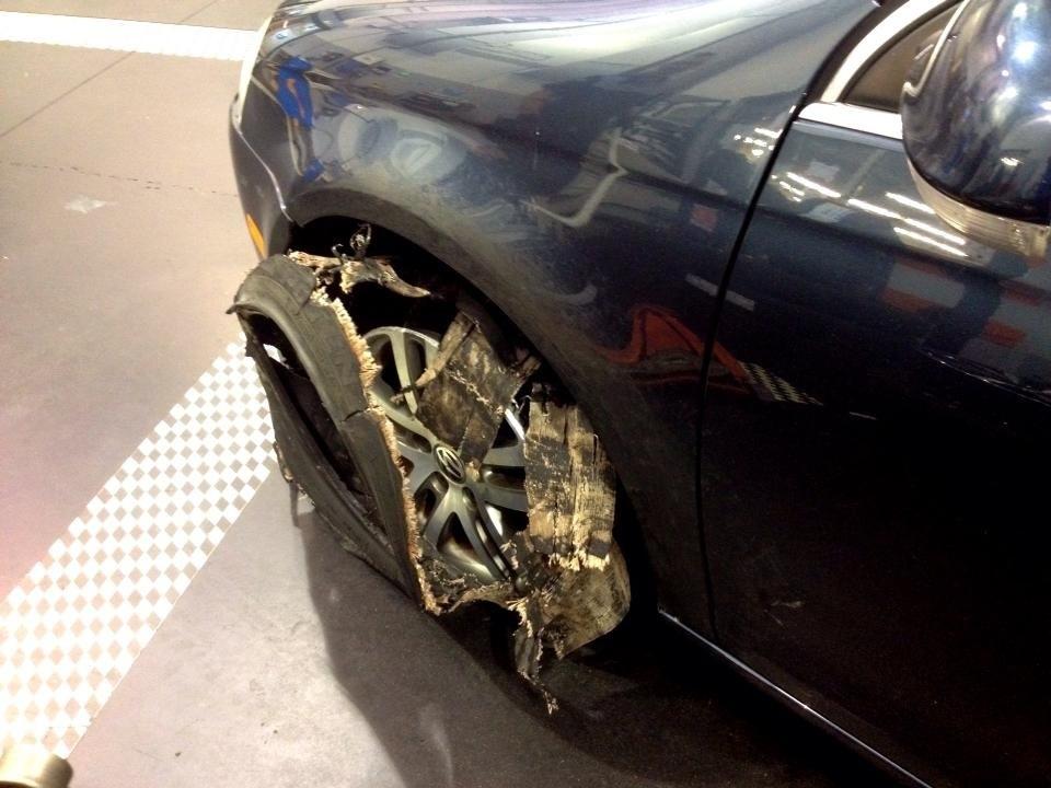 Volkswagen Tire Issue