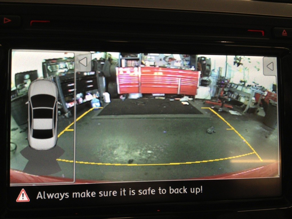 Volkswagen backup Camera