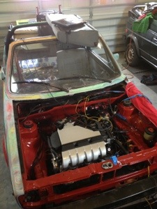 Luv A Dub Update Mk1 VR6 Cabriolet