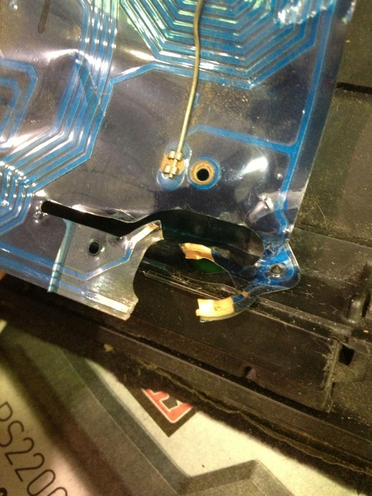 Damaged Volkswagen Wiring Problem