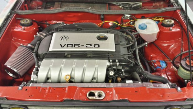 Cabby update 12/3/13 MK1 VR6 Engine Swap