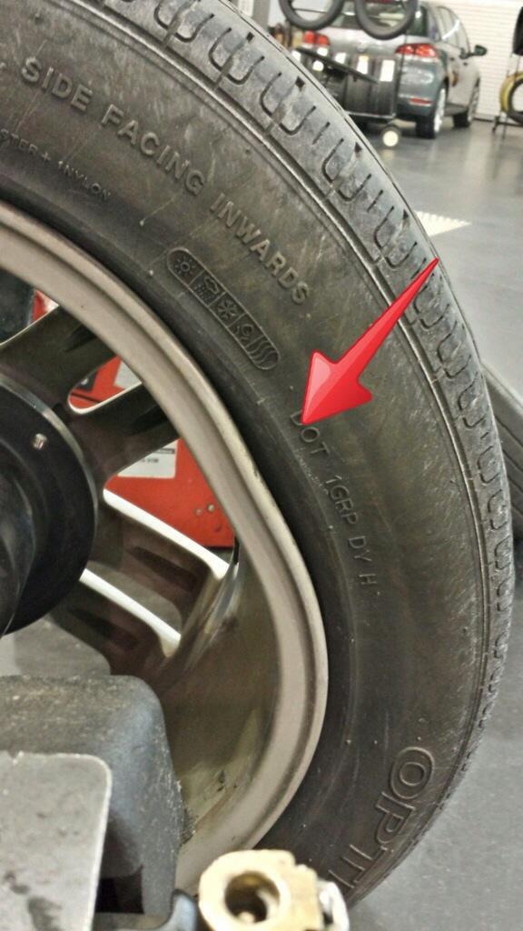 Bent VW Wheel damage