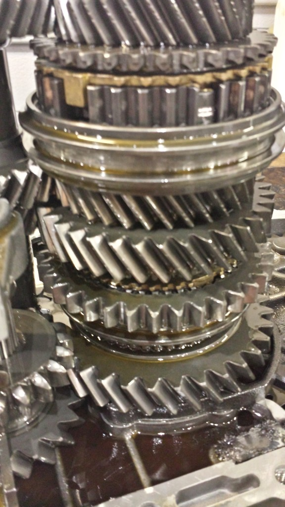manual transmission grinding in 3rd gear