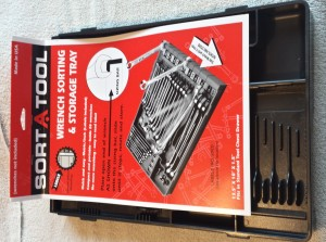 Sort A Tool Wrench Storage Tray